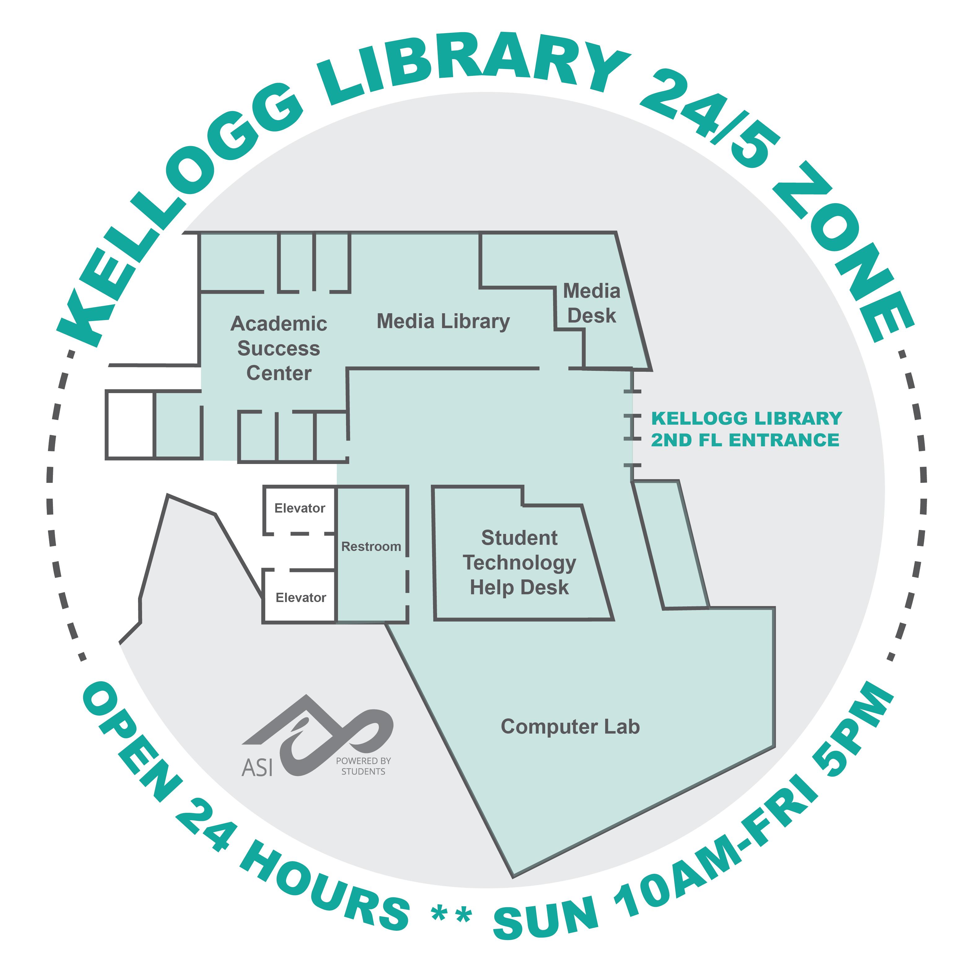 Kellogg Library 24/5 Zone