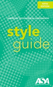 Cover of ASA Style Guide