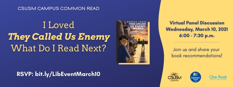 "Image for the Spotlight on I Loved ""They Called Us Enemy"" What Do I Read Next?"